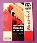 Offizielles Formel 1 Rennprogramm Grand Prix Kanada Montreal 1991 Senna Prost