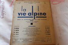 LA VIE ALPINE 42 revue du régionalisme dans les alpe française 1931