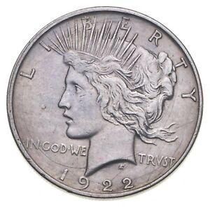 1922-D Peace Silver Dollar - US Coin *818