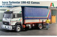 ITALERI  1:24 KIT TRUCK CAMION IVECO TURBOSTAR 190-42 CANVAS WITH ELEVATOR  3939