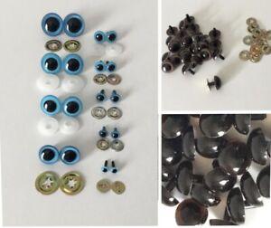 Ojos M/óviles de Pl/ástico DIY POKIENE Ojos de Peluche para DIY Scrapbooking Tama/ños Variados 760 Piezas Accesorio para Hacer Mu/ñecas Pegatina de Ojos M/óviles con Pesta/ñas Teddy Bear Toys Ojos