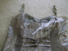 DIVA BY WATCHER CHAMPAGNE COLORED DRESS SIZE 38 NWOT
