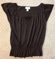 EUC Women's ANN TAYLOR LOFT Petites Lightweight Sweater Top-Size SP