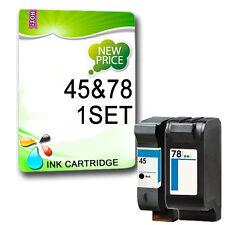 2 Non-OEM Ink for Deskjet 930cm 970cse 970CXI 980cxi 990CXI Replace 45 78
