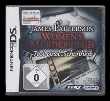 NDS WOMEN'S MURDER CLUB - TOD UND SCHÖNHEIT (Nintendo) James Patterson ** NEU **
