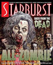 Starburst 374(relaunch issue, Glenn Fabry variant cvr) ZOMBIE SPECIAL+Dr Who+007