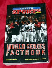Vintage Inside SPORTS Magazine - World Series Factbook