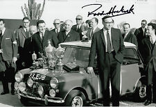 Paddy Hopkirk Hand Signed Mini-Cooper 12x8 Photo 6.