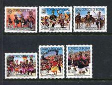 Bolivia 1167-1172, MNH.2002, Oruro carnival 6v. x27690