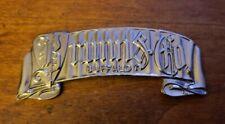 Brunn & Co. Buffalo Custom body/ coachbuilder tag