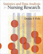 Statistics and Data Analysis for Nursing Research by Eileen Lake and Denise.