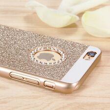 Bling Strass Handy Tasche Stoßfest Schutz Hülle Für iPhone6s 7 8 Plus Samsung s7