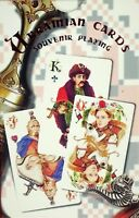 Ukrainian Cossack Theme Playing Cards - 54 High-Quality Casino Cards