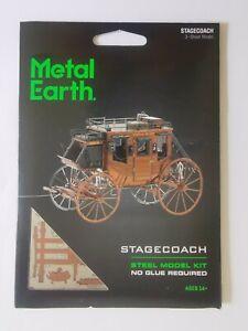 Metal Earth Wild West Stagecoach model kit