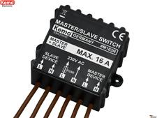 Kemo M103N Master Slave Schalter 230 V/AC (400 V/AC) Schaltmodul Umschalter