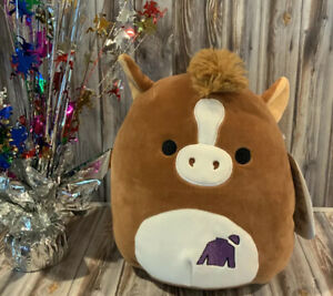 SILKY SQUISHMALLOWS Kentucky Derby Horse Racing Plush NWT