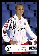 Janke Rohrberg Autogrammkarte Hamburger SV 2007-08 Original Signiert + A 108209