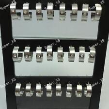 24pcs stainless steel Rhinestones Earrings wholesale jewelry lots free shipping