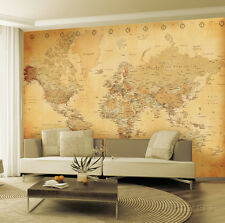 Old Map Wallpaper Mural Sticker - 124x91.5