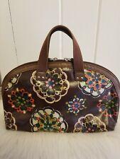 FOSSIL KEY PER Satchel Purse Handbag-Preowned Medium Size