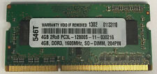 """4GB DDR3 MEMORY MODULE FOR Apple MacBook Pro 2.3GHz Core i7 15.4"""" (MD103LL/A)"""