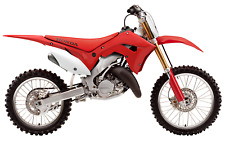 NEW Honda CR 125 / 250 2002 - 2007 Conversion MX Plastics Kit Restyle Motocross