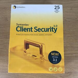 Symantec Client Security 3.0 - 25 User Business Pack - Version 3.1 - New Sealed