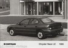 PRESS - FOTO/PHOTO/PICTURE - Chrysler Neon LE 1995