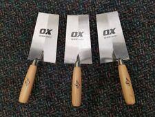 "Ox Tools Trade Series 7x4"" Bucket Trowel - 3 Pack"