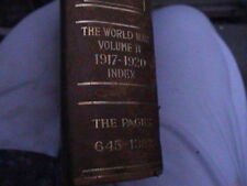 The Book of History, A History of all Nations 17 of 18 vol. set leather & cloth