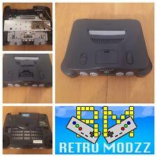 Nintendo 64 N64 Grey Games Console PAL RGB Board Upgraded DeBlur Tim Worthing