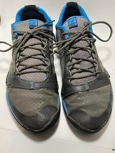 New Balance Minimus Winter Run Running Shoes Men's Sz 10.5 US Gray/Blue (MT20GK)