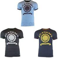 Mens Academy Legends Baseball Champion Graphic Print Logo Short Sleeve T-Shirt