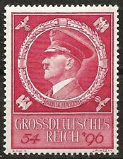Germany (Third Reich) 1944 MNH - Hitler's 55th Birthday - Mi: 887 SG: 875