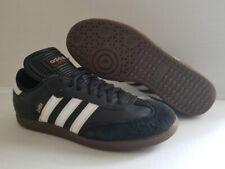 Adidas Samba Classic Leather Soccer Shoes Black/White Men Size 8