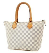 Authentic LOUIS VUITTON Saleya PM Damier Azur Tote Hand Shoulder Bag #37231