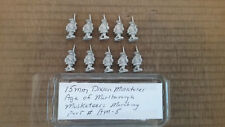 15mm Dixon Miniatures Age of Marlbourgh Marlburian  Musketeers Marching