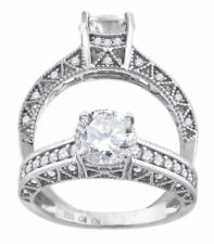Anillos de joyería solitario diamante diamante