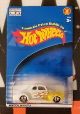 HOT WHEELS TOMART'S PRICE GUIDE ** '40 FORD COUPE ** WHITE 1:64