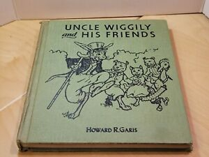 Vintage Uncle Wiggily and His Friends Hardcover Book Garis 1955 Illustrated