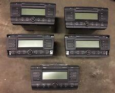 SKODA Octavia MK2 04-08 stream audio CD MP3 RADIO STEREO LETTORE + CODICE LAVORO LOTTO x5