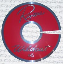 "1963 Buick Riviera 401 14"" Air Cleaner I.D. Plate 