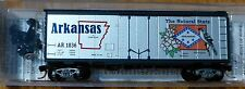 Micro-Trains Line #21383 Arkansas State Car (Rd #1836) 40' Standard Boxcar Plug