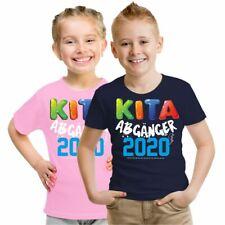 Kinder T-Shirt KITA Abgänger 2020 bunt 86-164 Kindergarten Schuleinführung