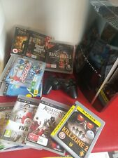 Ps3 Console +10 Games + Controller Playstation 3. Free Post 📫 🇭🇲