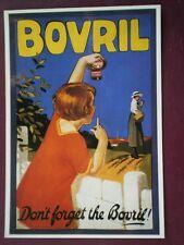 POSTCARD  BOVRIL - DON'T FORGET THE BOVRIL