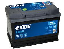 EXIDE Autobatterie Batterie 74Ah - EXCELL EB741 zzgl. 7,50€ Batteriepfand