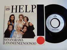 "BANANARAMA : Help / Lananeeneenoonoo 7"" 45T French LONDON 886492-7 comic relief"