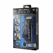 MicroTouch Solo Rechargeable Trims Edges Razor Shaver