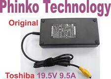 Original Toshiba Qosmio X70 X770 X775 X500 X505 Adapter Charger 19.5v 9.5a 180w